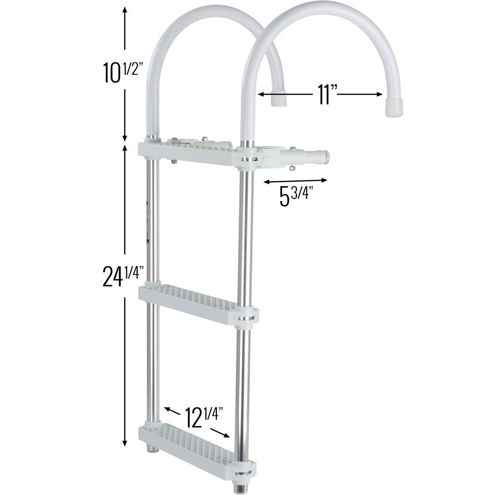 3 Step Harbor Mate Boat Boarding Ladder Discount Ramps
