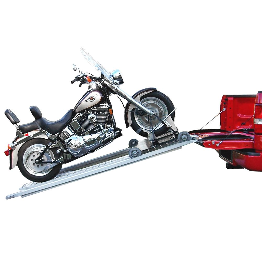 Cruiser Ramp Powered Motorcycle Ramp System 8 Long