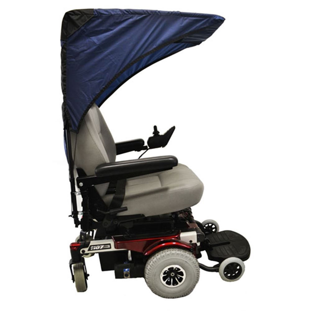 C1210 Scooter  Wheelchair Canopy Base Model - Pediatric Size in Navy Blue