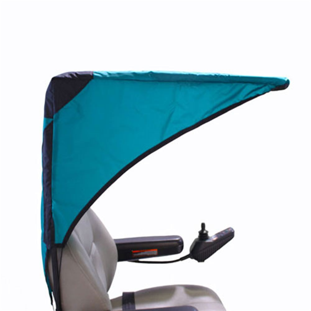 C2110 Scooter  Wheelchair Canopy Base Model - in Teal Green
