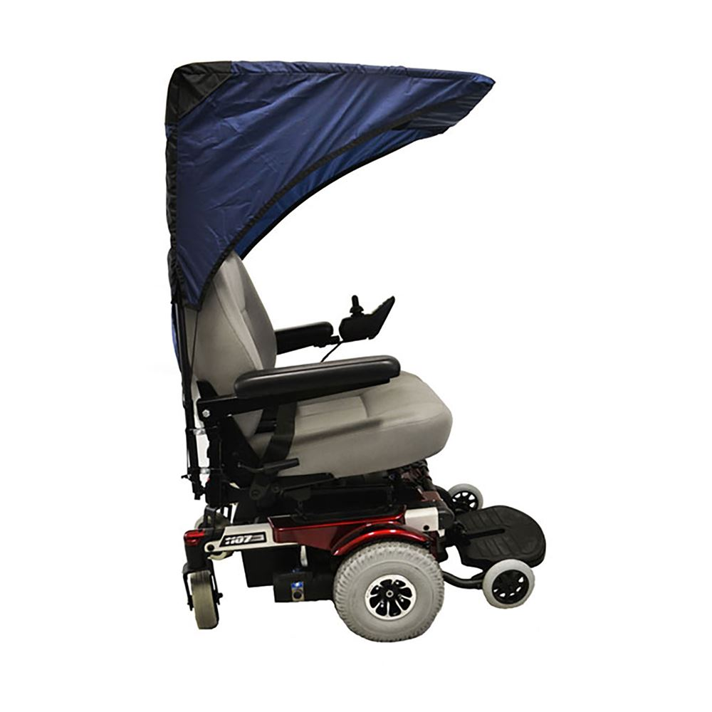 C2210 Scooter  Wheelchair Canopy Base Model - in Navy Blue