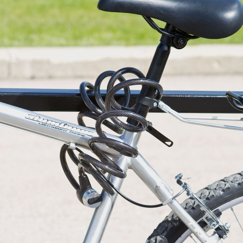 Bike Cable Lock >> Apex Self Coiling Bicycle Cable Locks Discount Ramps