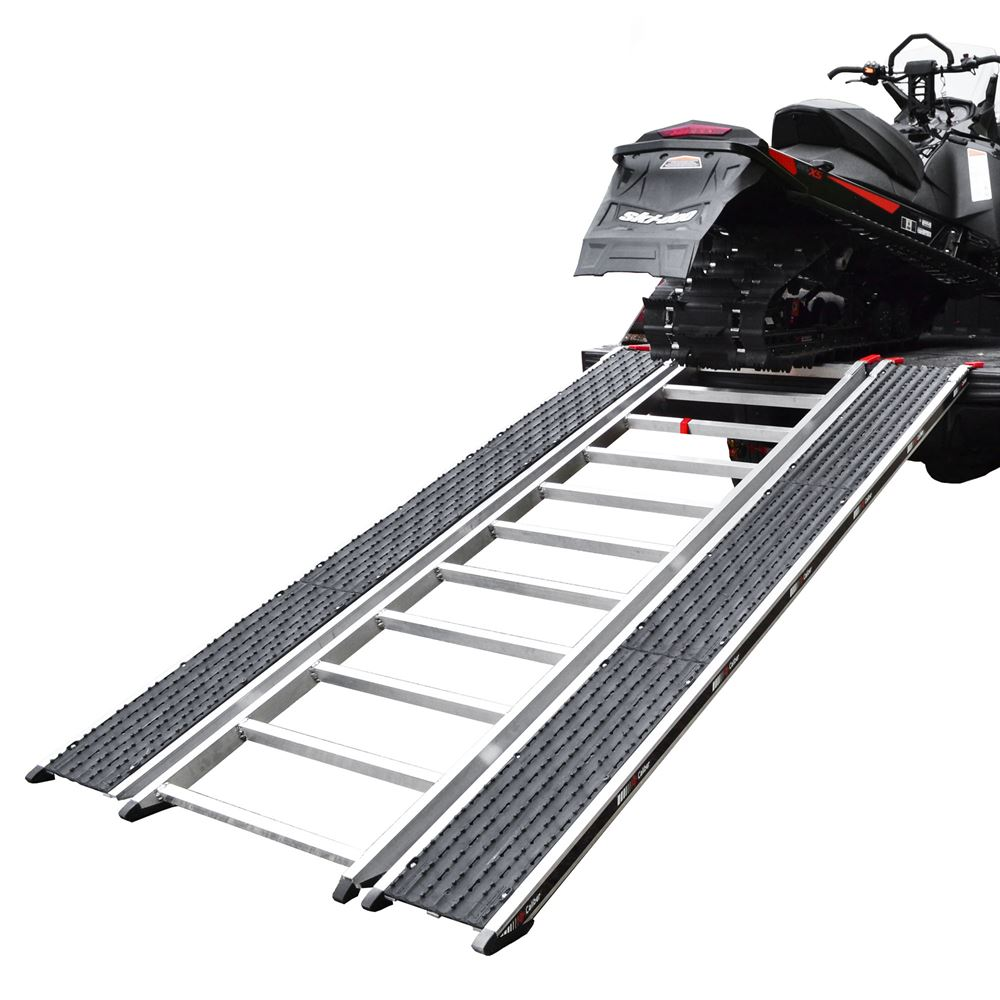 CBR-13526 Ramp Only - Caliber PRO Tri-Fold Snowmobile and ATV Ramp - 7 6 Long x 52 Wide