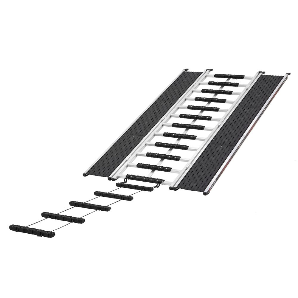 CBR-13527-EXT-S Ramp Extension and Stud Protectors  Caliber PRO 20 Tri-Fold Snowmobile and ATV Ramp  7 6 L x 52 W