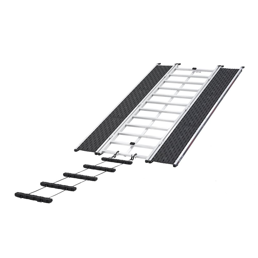 CBR-13527-EXT Ramp and Extension  Caliber PRO 20 Tri-Fold Snowmobile and ATV Ramp  7 6 L x 52 W