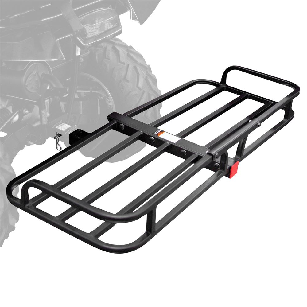 Black Widow Steel Atv Hitch Cargo Basket 150 Lbs