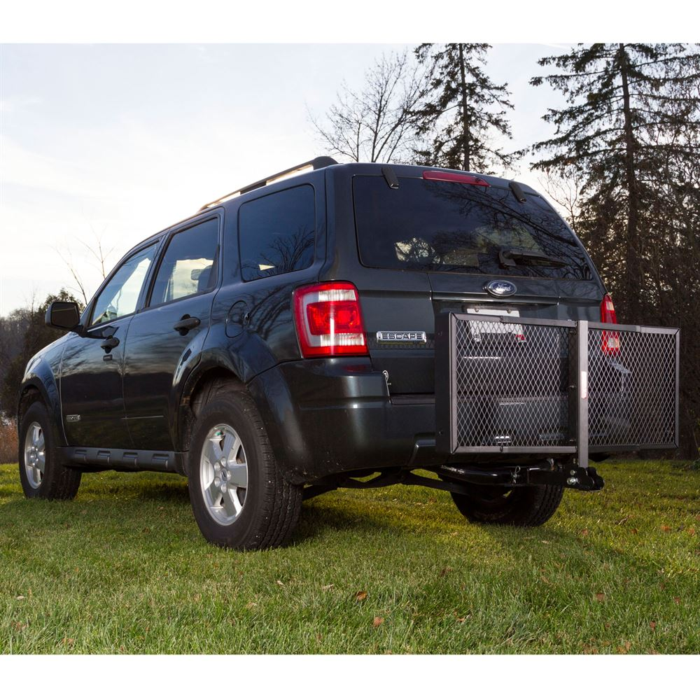 Apex Steel Tray Folding Cargo Carriers | Discount Ramps