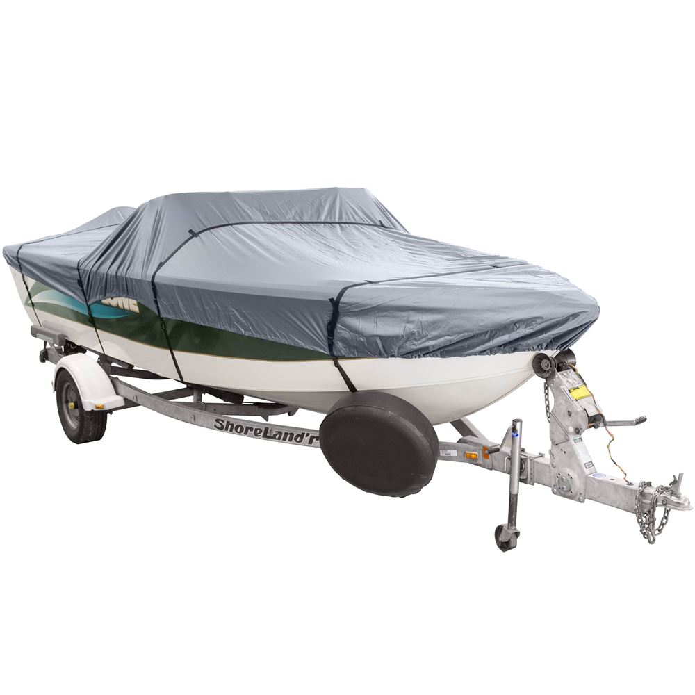 CL-66133 Shoreguard Standard V-hull Fishing Boat Cover