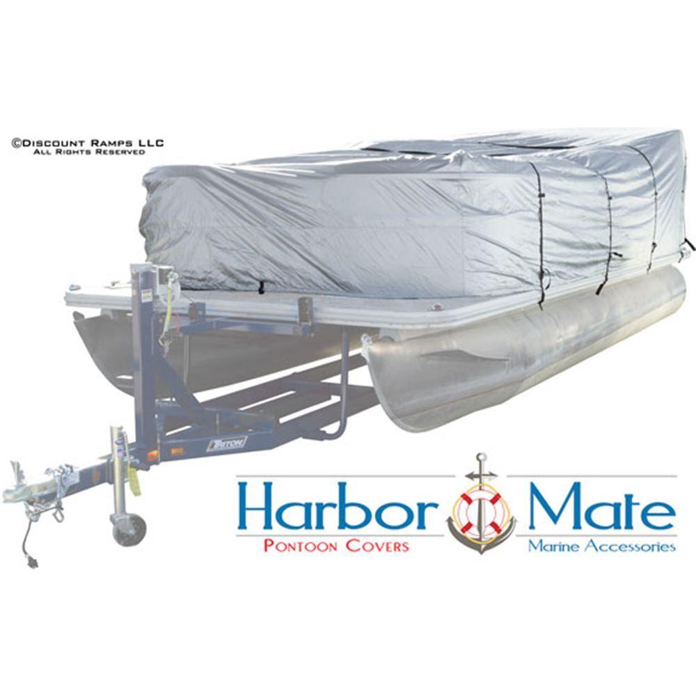 CL-PTC-DLX-A 17-20 Playpen Length 300D Pontoon Boat Cover
