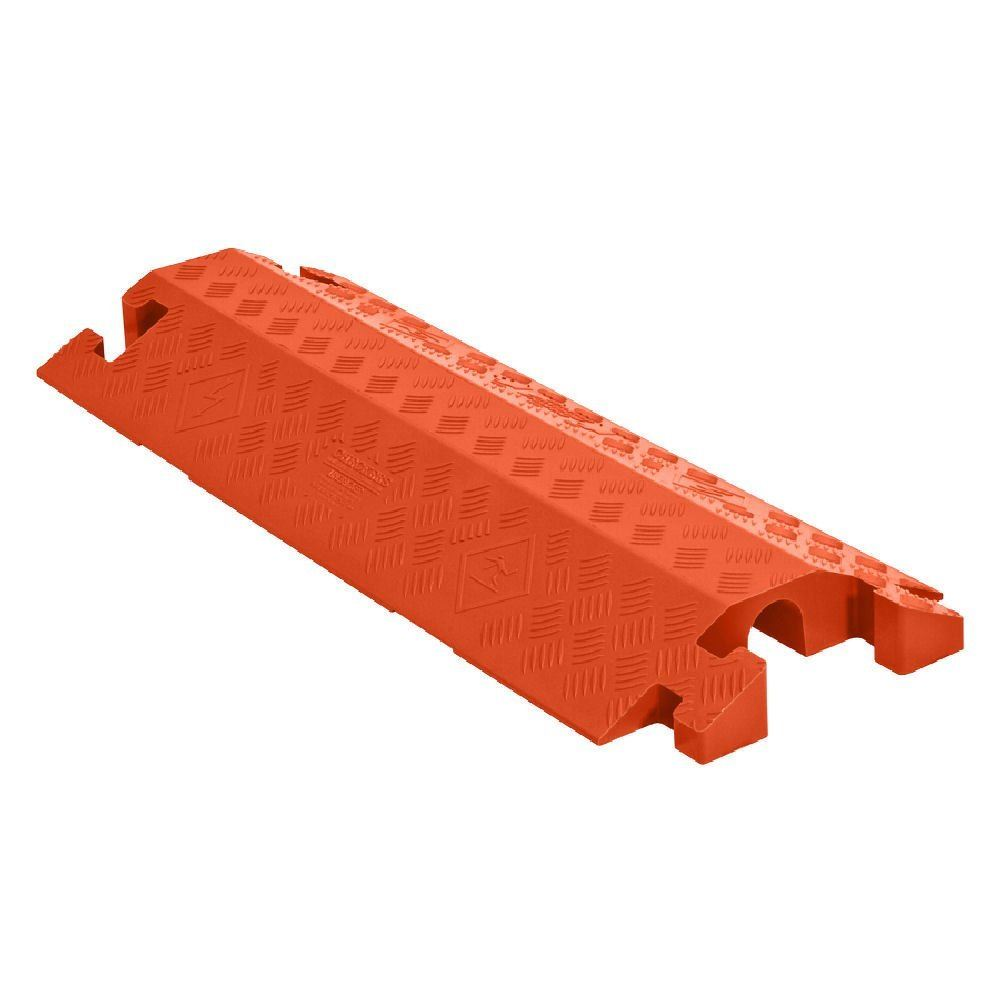 CP1X125-GP-DO-O Orange 1-Channel Drop-Over Linebacker Cable Protector for 1-14 Diameter Cables