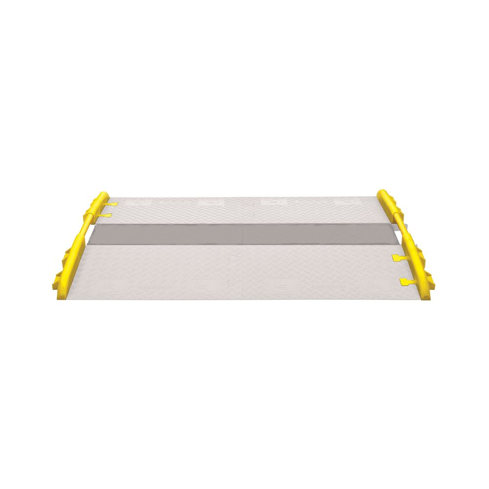 CPRL-3GD-DO-Y Cross-Guard ADA Wheelchair Cable Ramp Rail for 3-Channel Guard Dog Cable Protectors