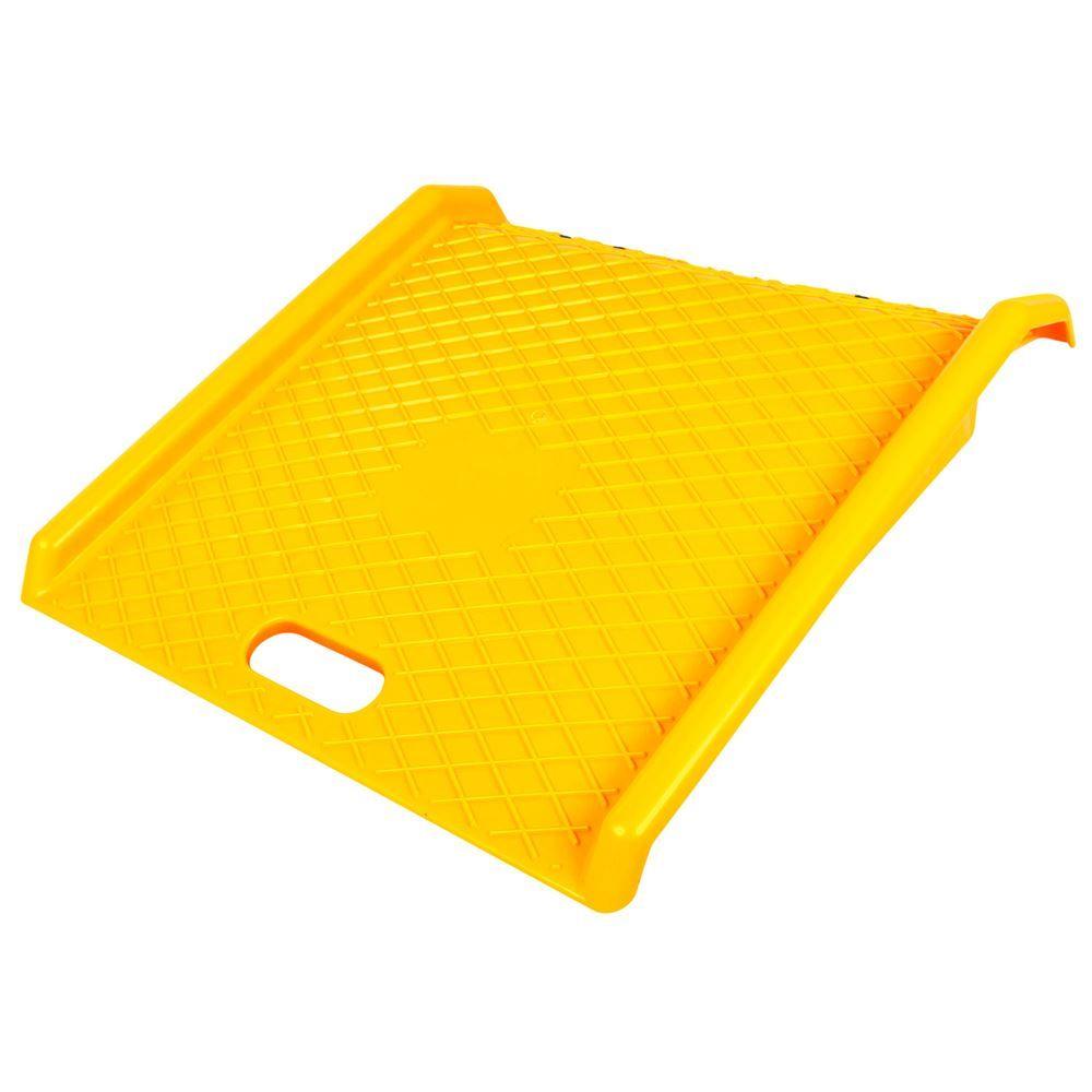 CR-2727 Guardian Polyethylene Plastic Curb Ramp
