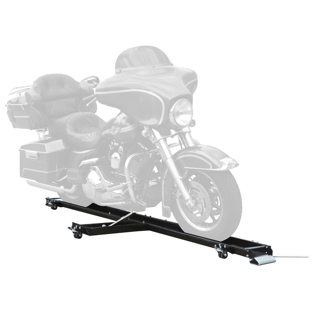 CRUISER-DOLLY Black Widow Steel Cruiser and Chopper Motorcycle Dolly - 1250 lbs Capacity