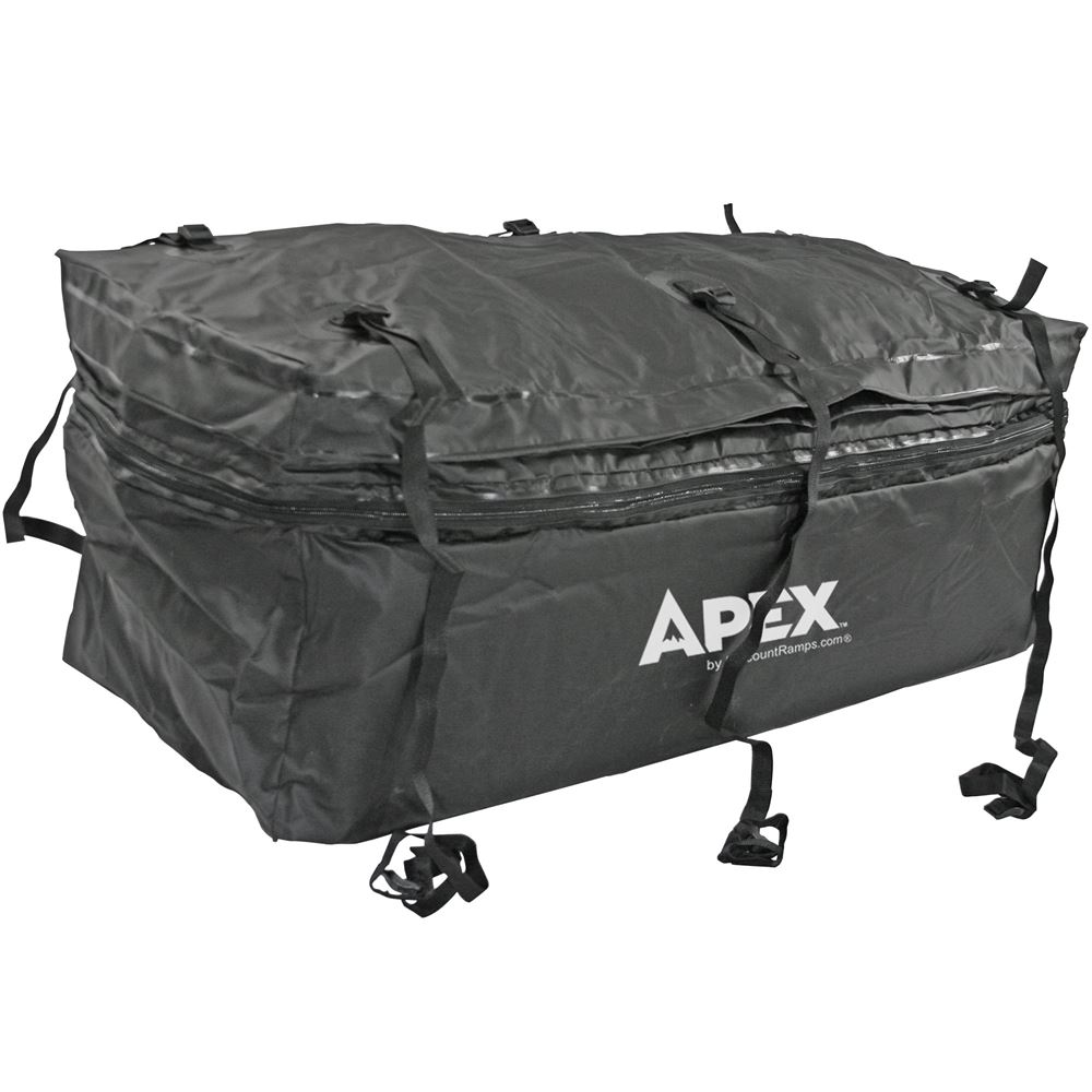 48 Waterproof Hitch Cargo Carrier Rack Bag With Expandable Height