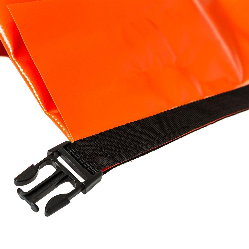 Dry bag buckle end