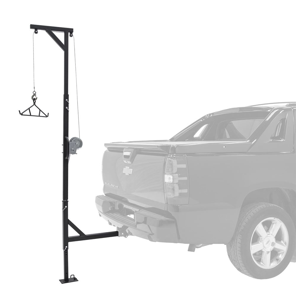Kill Shot 500 Lb Capacity Deluxe Hitch Mounted Deer Hoist
