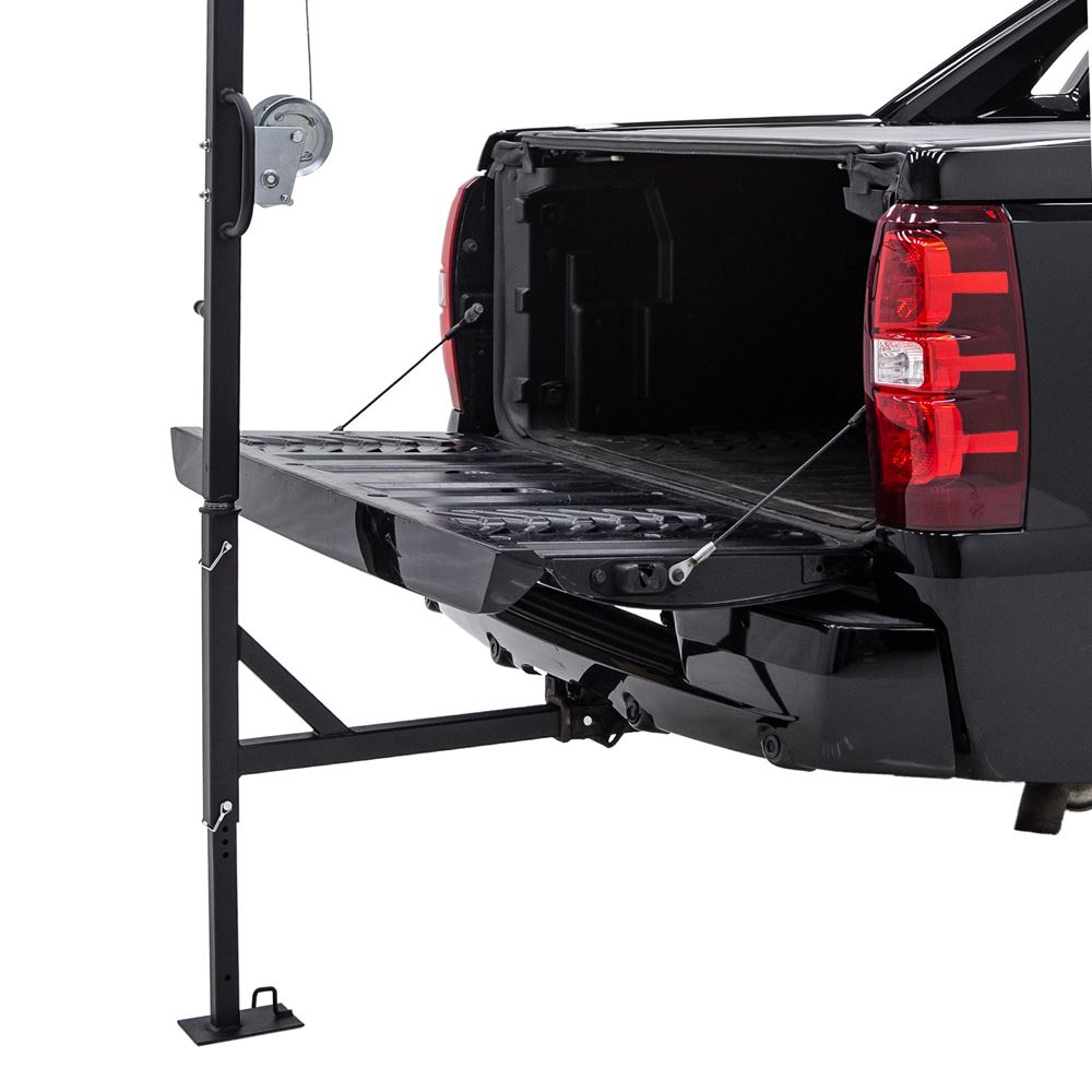 DEER-HOIST-SWIVEL Kill Shot 500 lb Capacity Deluxe Hitch-Mounted Deer Hoist with Swivel  Gambrel 4