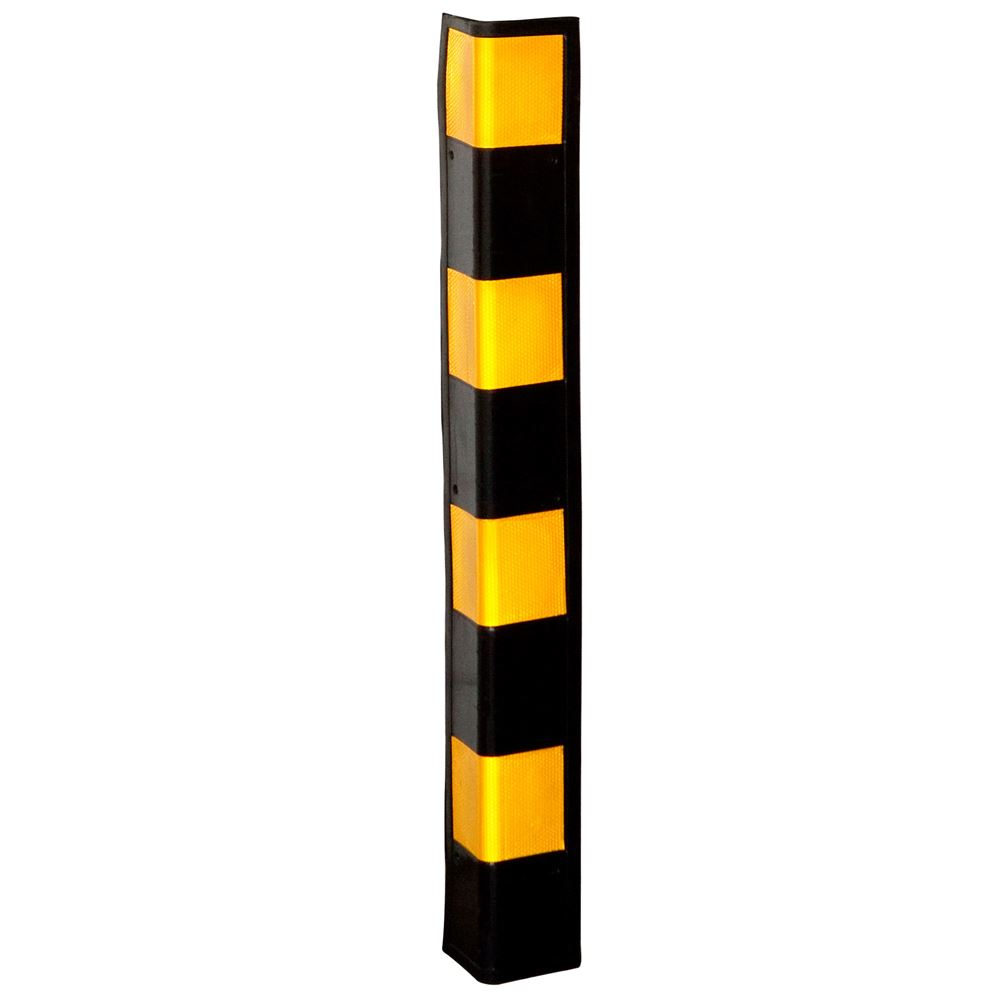 DH-128L Guardian Rubber Corner Guards - 34-78H x 4W x 78D