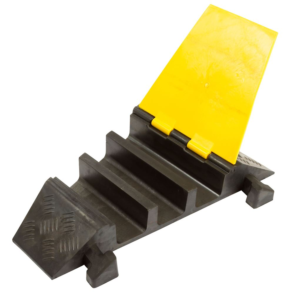 DH-CP-4R 3-Channel Right Turn Guardian Cable Protector for 2-12 Diameter Cables