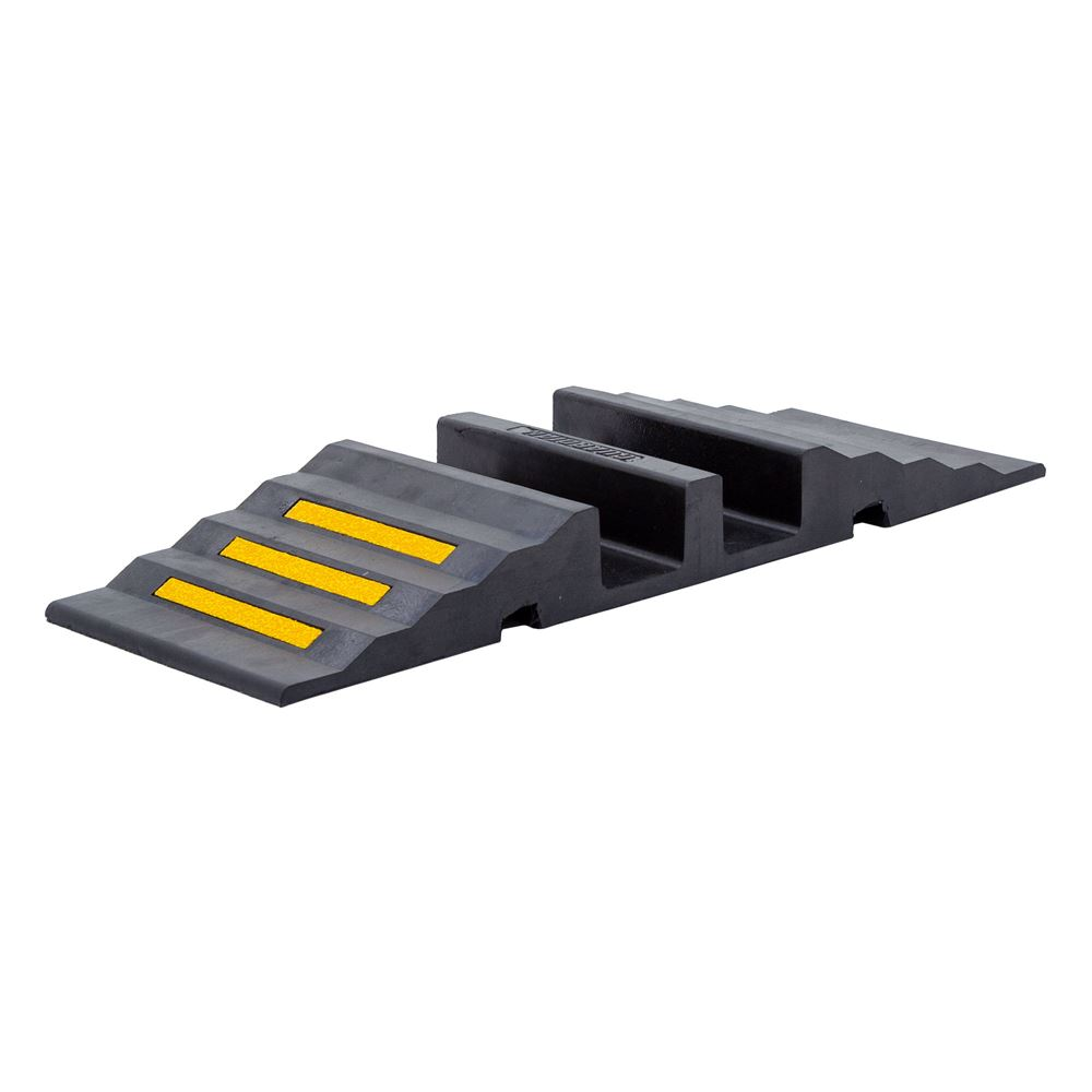 DH-HR-3 Hose Protector Ramp with dual 3-34D hose channels - 20000 lb capacity per axle