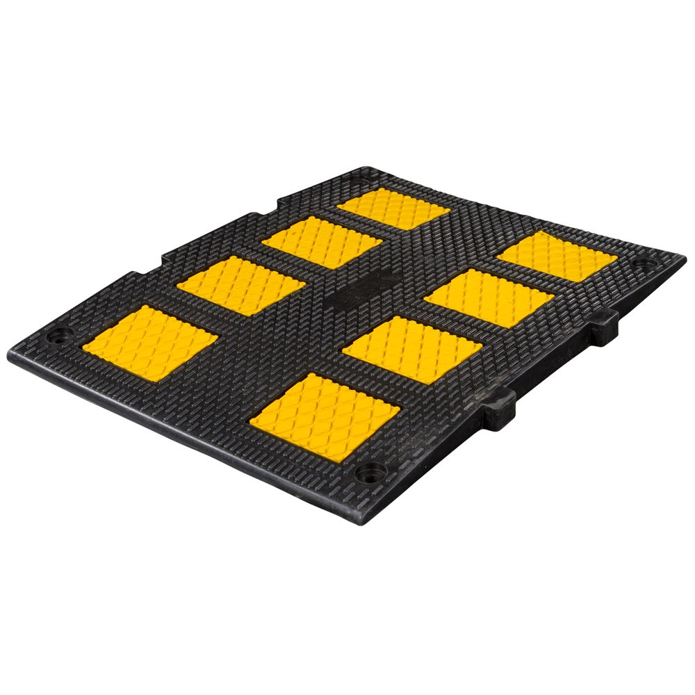 dh sp 21m 1 12 long x 2 wide guardian modular speed hump - Rubber Speed Bumps