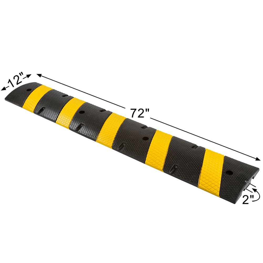 DH-SP-26M 6 L x 12 W Guardian Modular Speed Bump 2