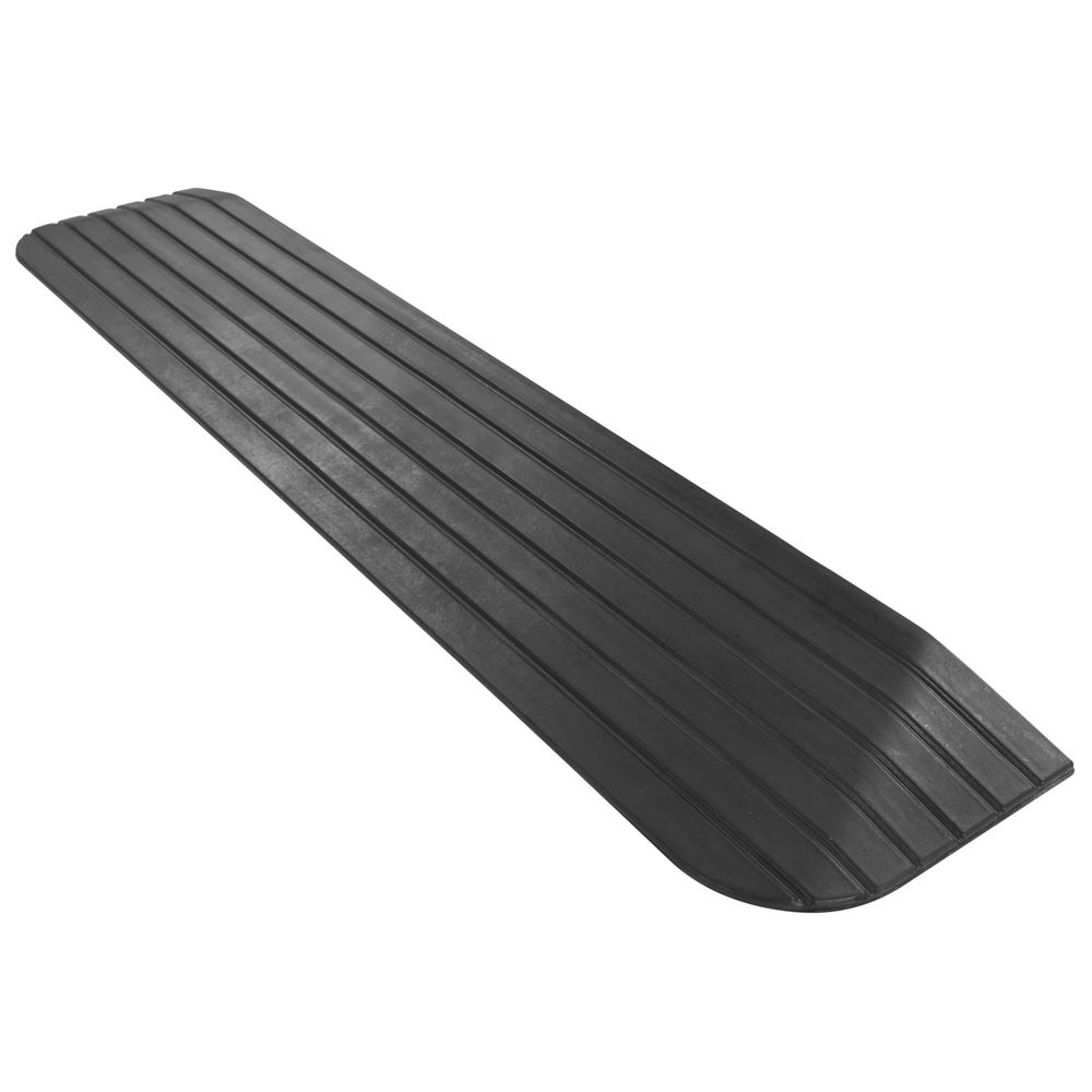 DH-TR-1 1 Maximum Rise - Silver Spring Rubber Solid Threshold Ramp