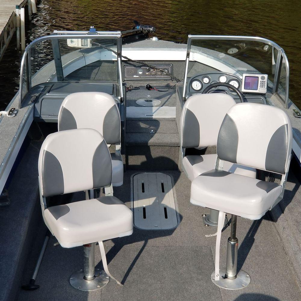 Bass Fishing Replacement Folding Vinyl Boat Seat