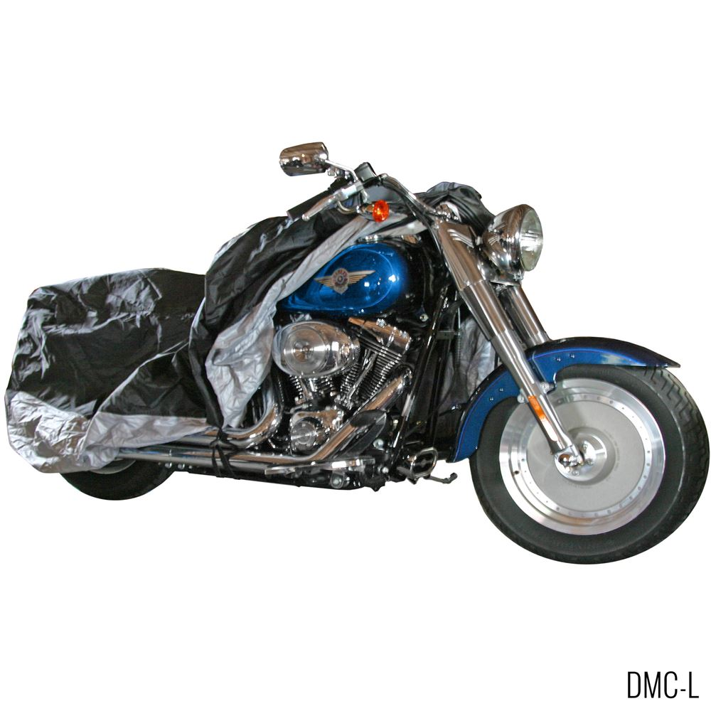 DMC-Cover Black Widow Deluxe Waterproof Motorcycle Cover