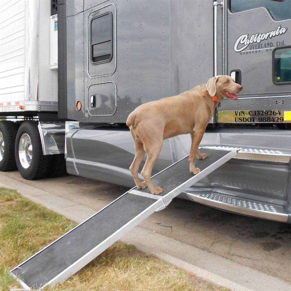 Dog Ramp For Truck >> Lucky Dog Aluminum Folding Dog Ramp Discount Ramps