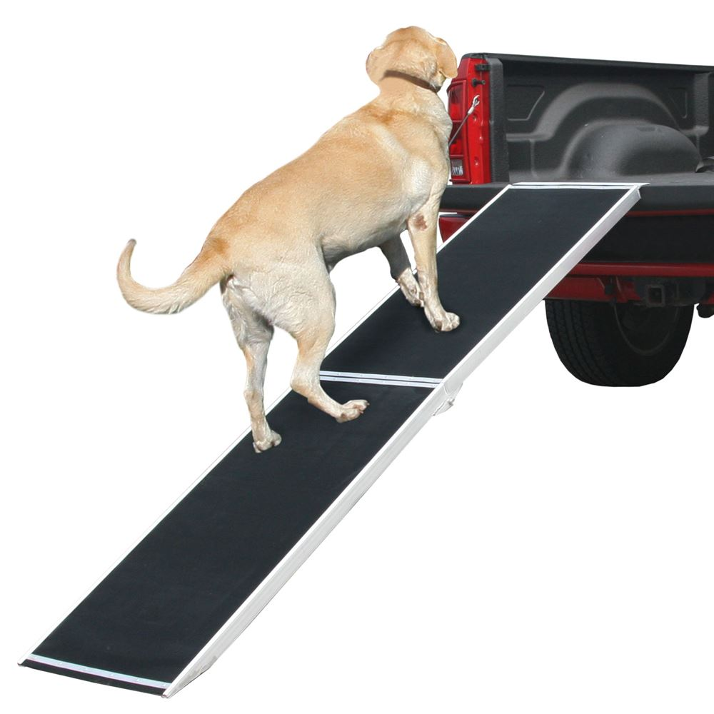 DR-06XW 6 L Lightweight Extra Wide Folding Aluminum Pet Ramp