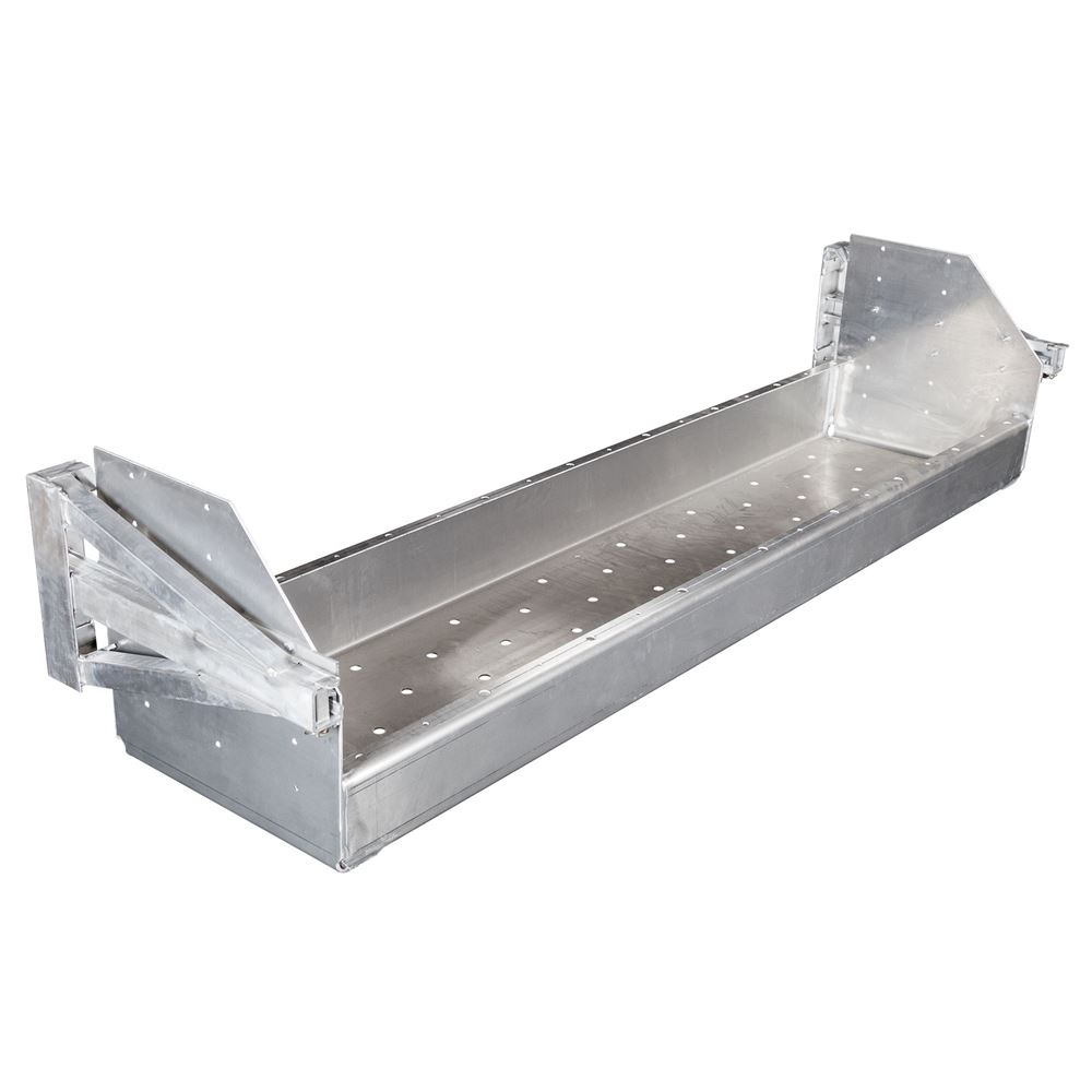 DR-102-24-DR Dunnage Racks for Step Deck and Flatbed Trailers