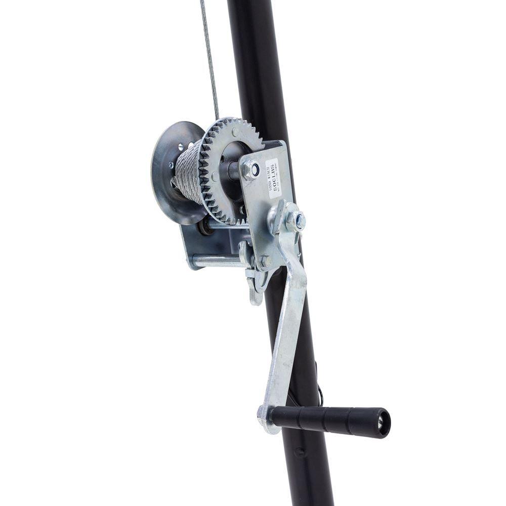 DRC-DTP Kill Shot 500 lbs Capacity Tripod Game Hoist with Gambrel 3