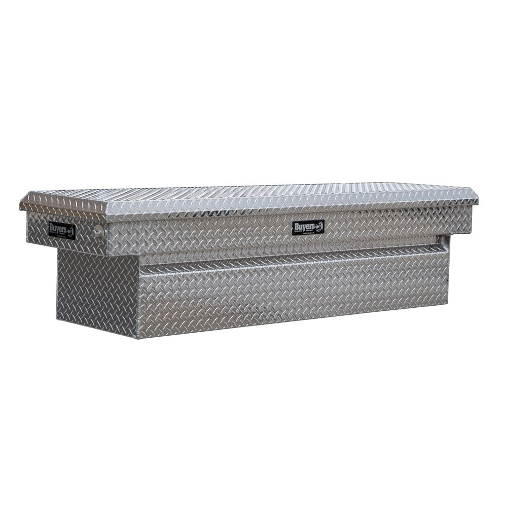 DTA-CROSSOVERTB Buyers Products Diamond Tread Aluminum Crossover Truck Tool Boxes