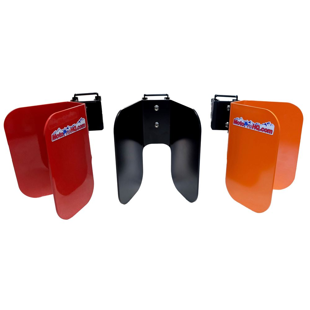 EZ-CHK MotoProHQ EZ Chock System for Wall-Mounted E-Tracks