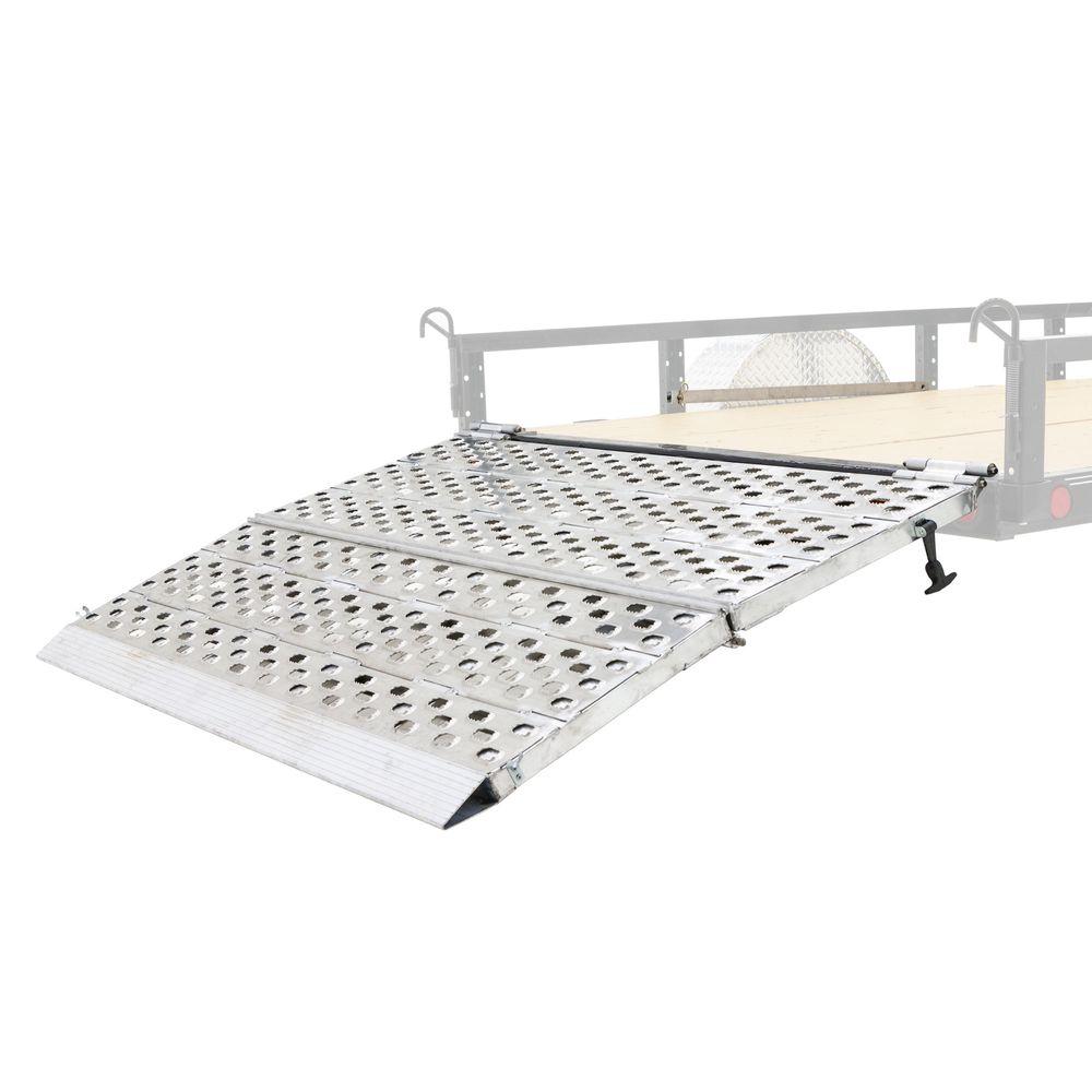 F05-HINGE Bi-Fold Aluminum Trailer Ramps
