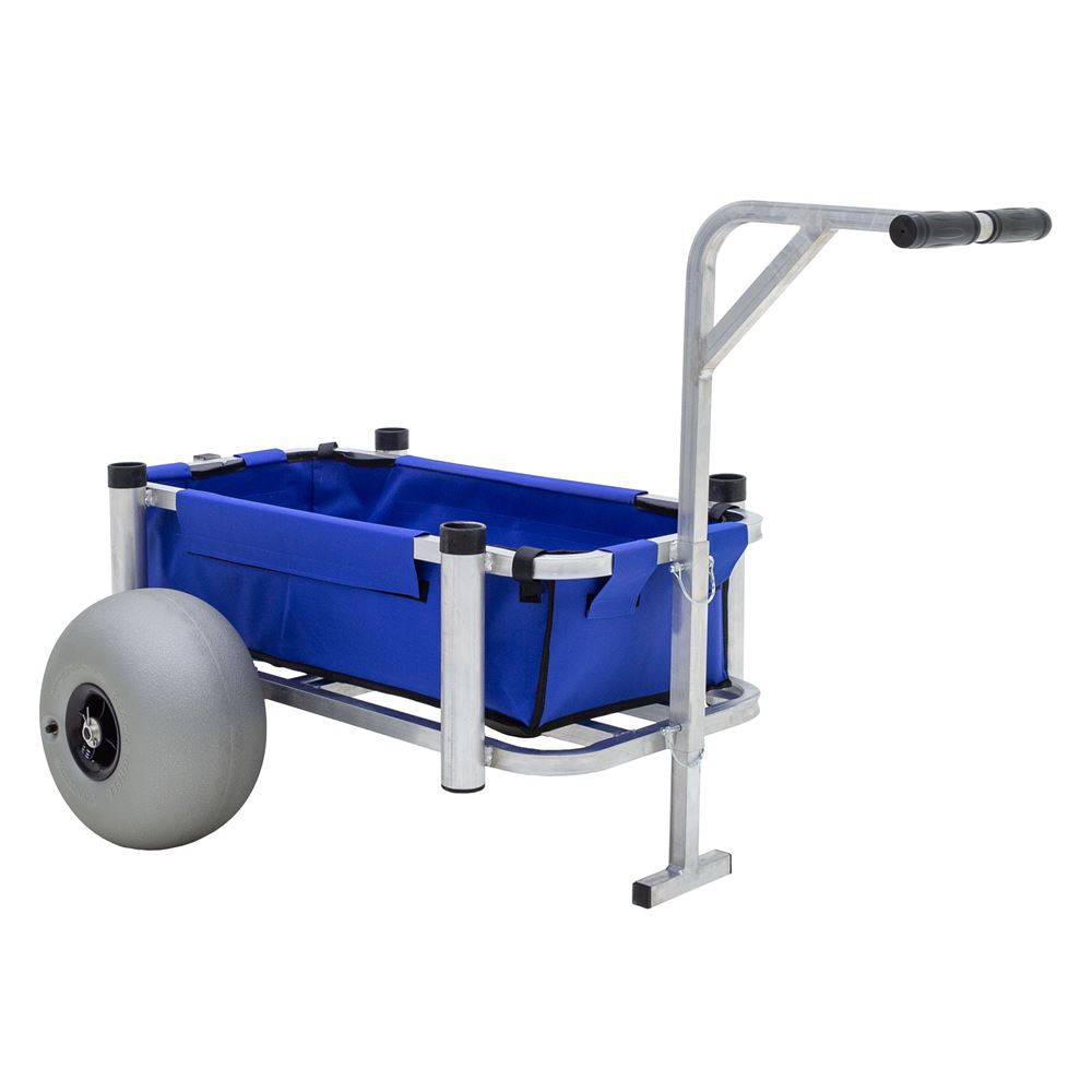 FC-2021-BW Harbor Mate Fishing and Beach Cart with Balloon Wheels