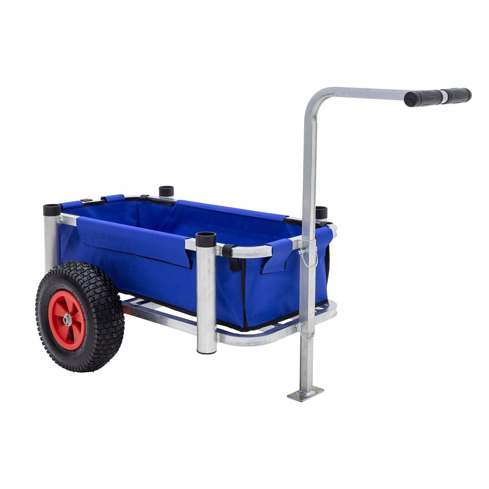 FC-2023-RW Harbor Mate Fishing and Beach Cart with Rugged Wheels