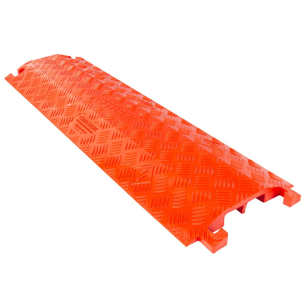 FL2X175-O FastLane Dual Channel Cable Protector - 36 x 1075 -Orange