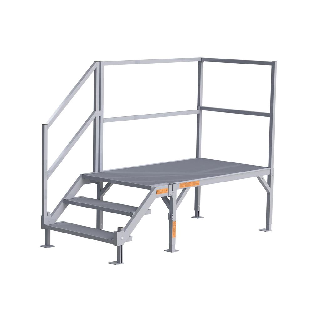 FOR2334 EZ-ACCESS FORTRESS Aluminum 3-Stair System