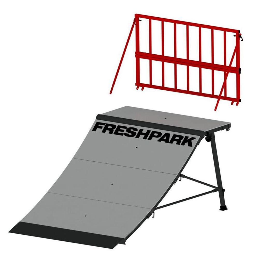 FP-311 Freshpark Skateboard Ramp Safety Rail 1