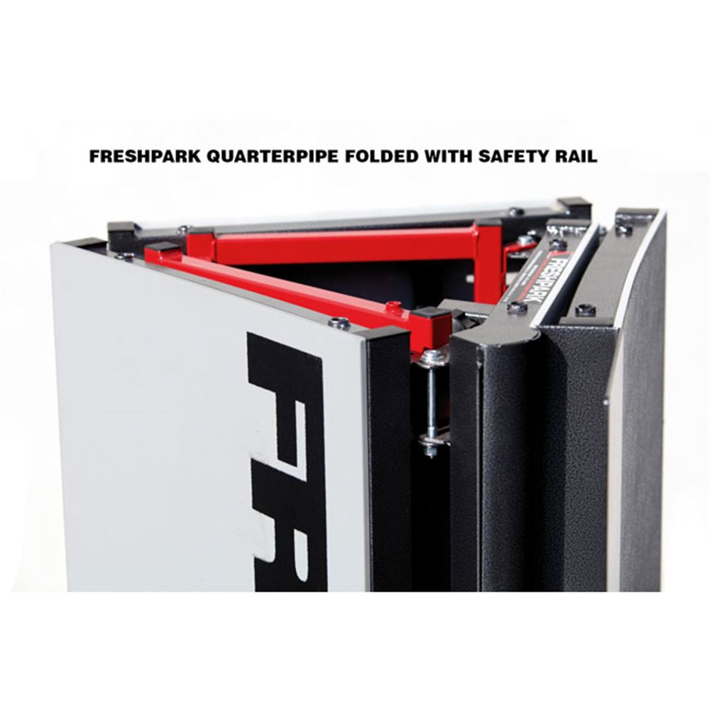 FP-311 Freshpark Skateboard Ramp Safety Rail 2