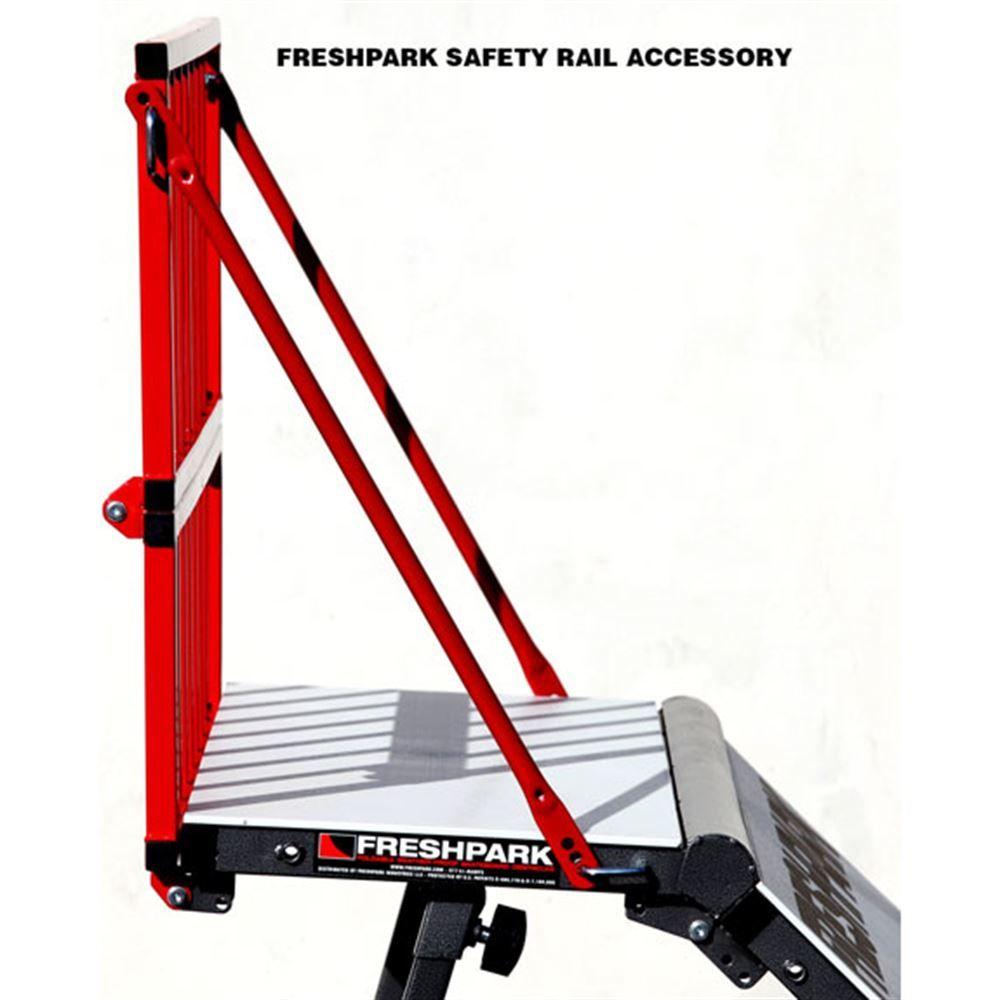 FP-311 Freshpark Skateboard Ramp Safety Rail 4