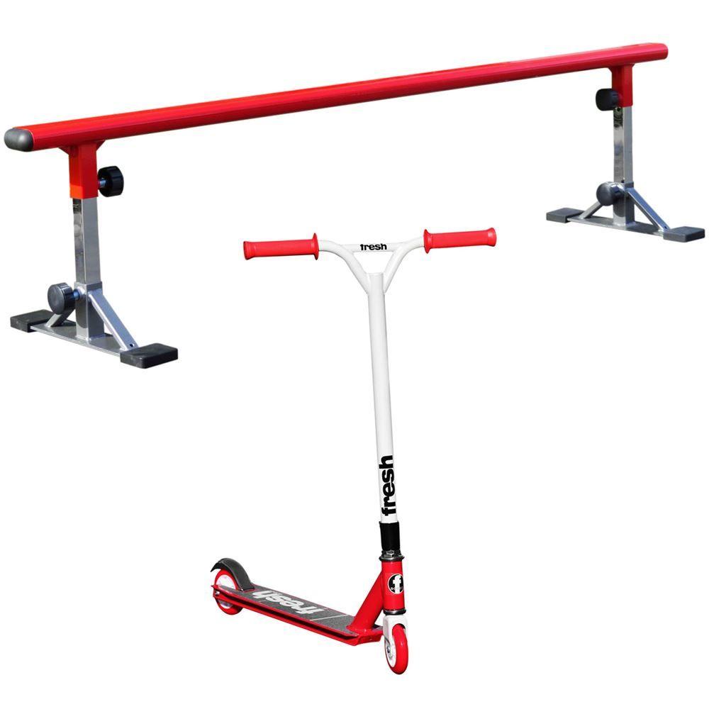 FP-FS-GR Freshpark Scooter and Grind Rail Kit