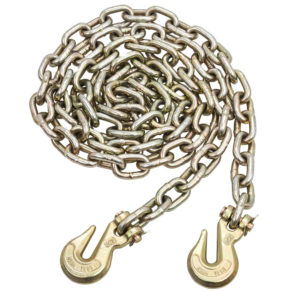 G70-38-FH 38 Grade 70 Heavy-Duty Chain with Clevis Hooks