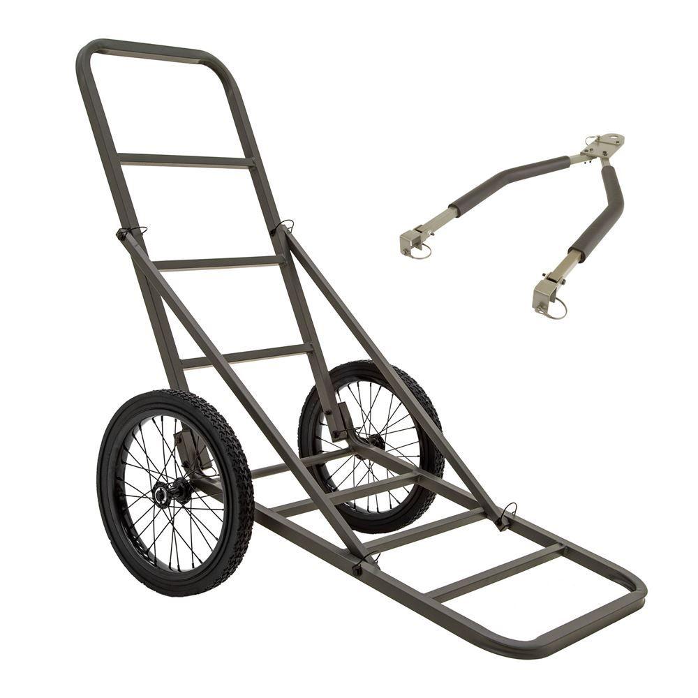 GAME-CART-SM-TOW Kill Shot 300 lb Capacity Folding Game Cart with Tow Bar