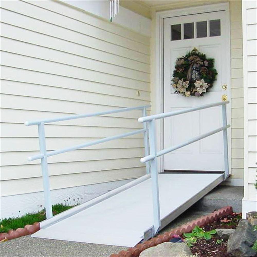 Superbe GATEWAY Handrail Ramp EZ Access Gateway Aluminum Wheelchair Access Ramp  With Handrails