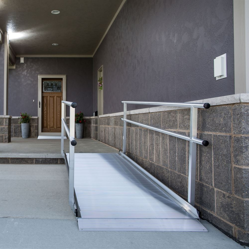Ez Access Gateway Aluminum Wheelchair Access Ramp With