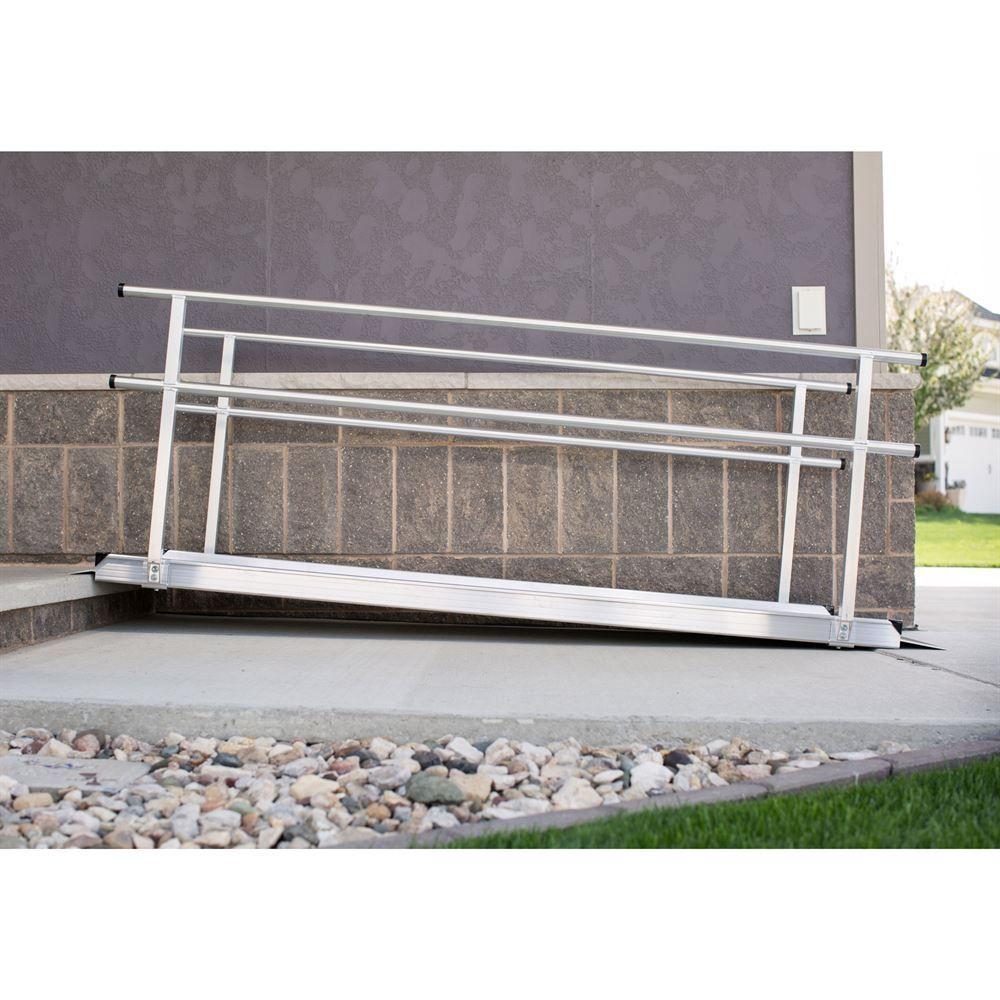 EZ-Access Gateway Aluminum Wheelchair Access Ramp With