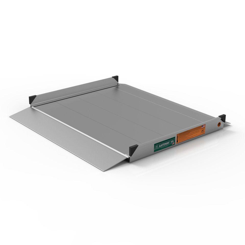 GATEWAY3G03 3 L x 3 W EZ-ACCESS GATEWAY 3G Aluminum Wheelchair Access Ramp
